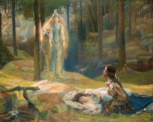 Разоблачение (Брунгильда обнаруживает Зиглинду и Зигмунда)