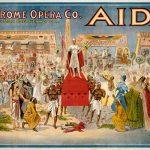 """Аыиша оперы """"Аида"""" (США, 1908 г.)"""