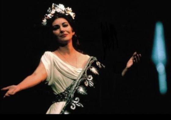Мария Каллас в роли Нормы