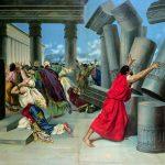 Самсон разрушает храм филистимлян